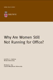 Why Are Women Still Not Running for Office? book cover