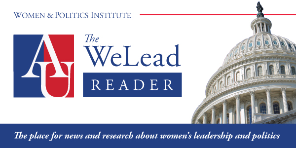 The WeLead Reader, the place of news and research about women's leadership and politics