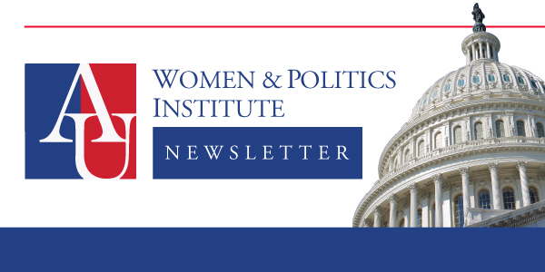women and politics institute newsletter