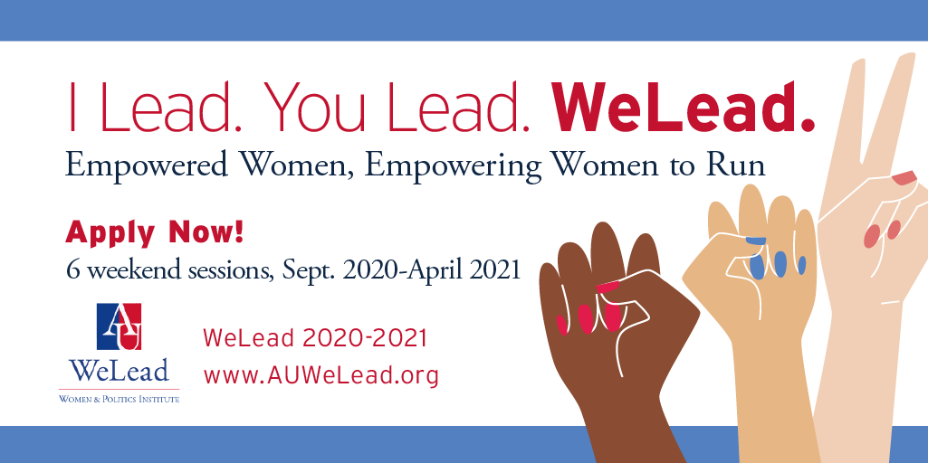 WeLead 2020 application card