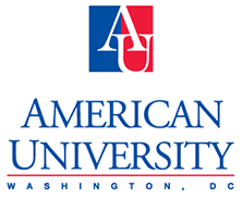 Image result for american university logo