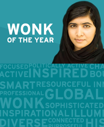 Malala is the Wonk of the year for 2017