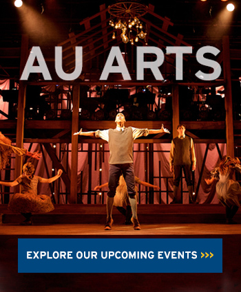 AU Arts: Explore our upcoming events