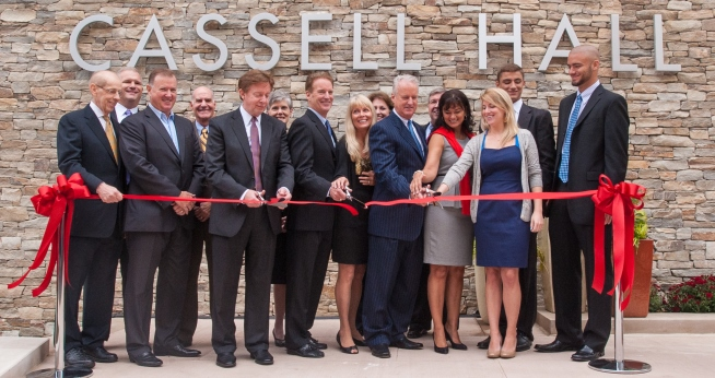 Cassell Hall Dedication