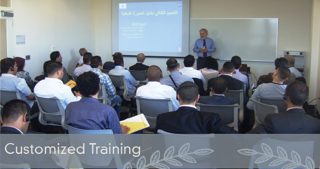 IMI Customized Training Programs