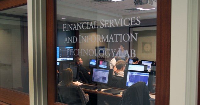 Financial Services and IT Lab at the Kogod School of Business
