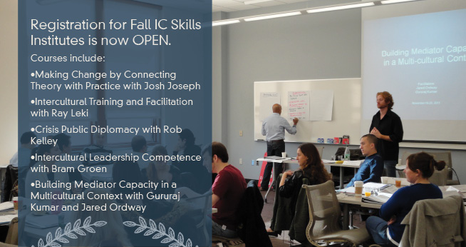 Registration for Fall IC Skills Institutes is OPEN.