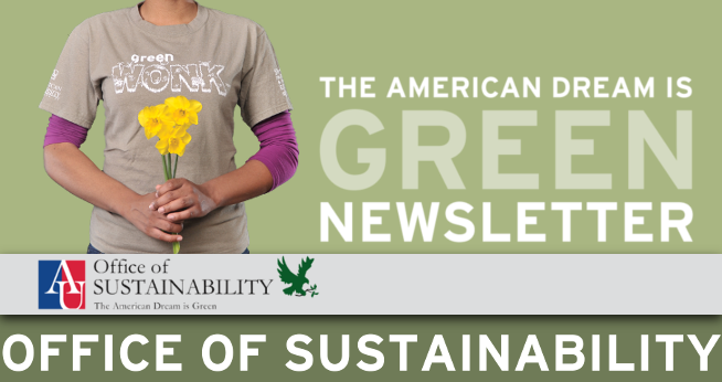 The American Dream is Green Newsletter