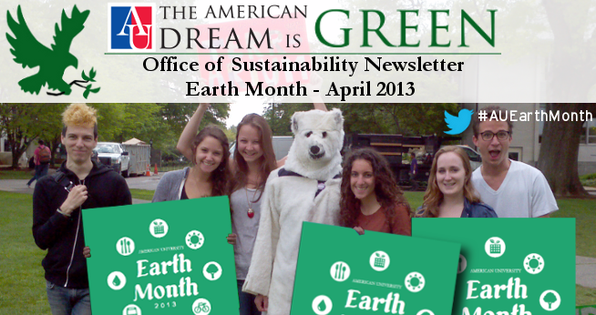 Sustainability Newsletter April 2013