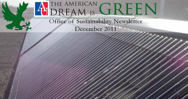 December Sustainability Newsletter Header