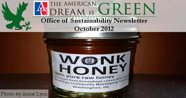 Sustainability Newsletter Header October 2012