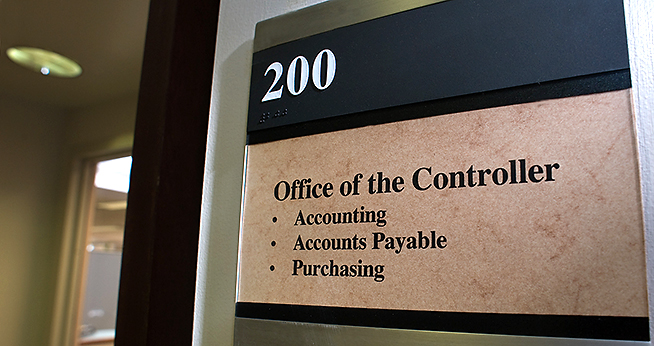 Controller Office Sign