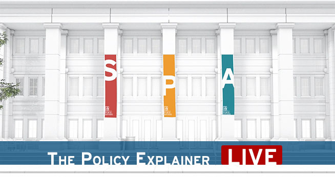 SPA: The Policy Explainer LIVE