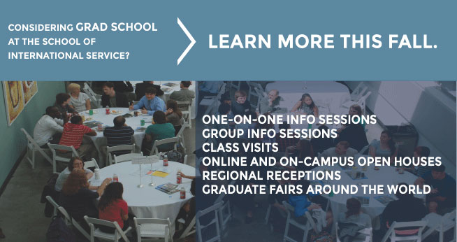 Graduate Admissions Fall Events