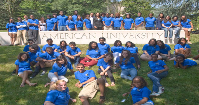 The Summer Transition Enrichment Program at American University