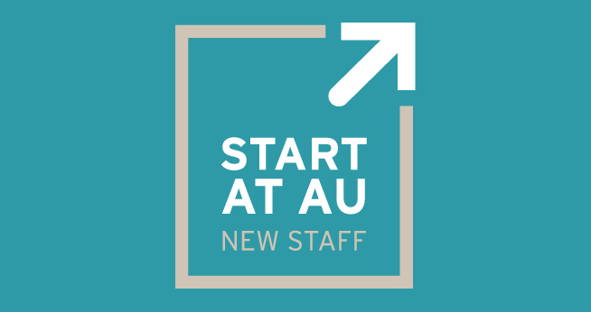 Start At AU Hero logo