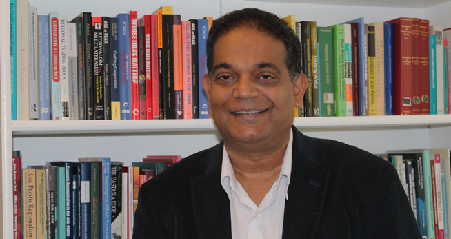 Professor Amitav Acharya Elected President of International Studies Association