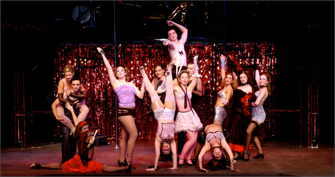 Cabaret at Greenberg Theatre, 2003