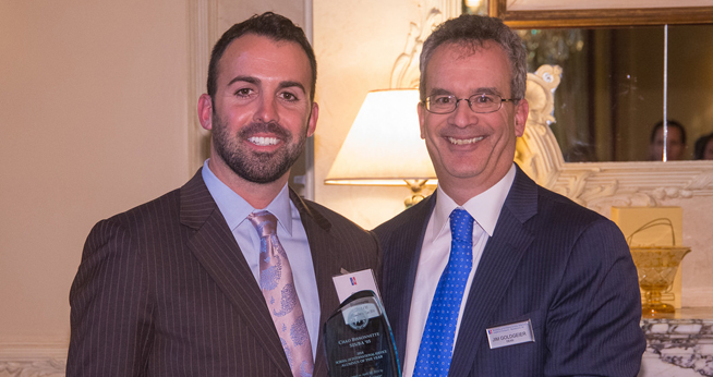 Chad Bissonnette is the SIS Alumnus of the Year 2014.