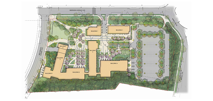 BuildingAU East Campus Map