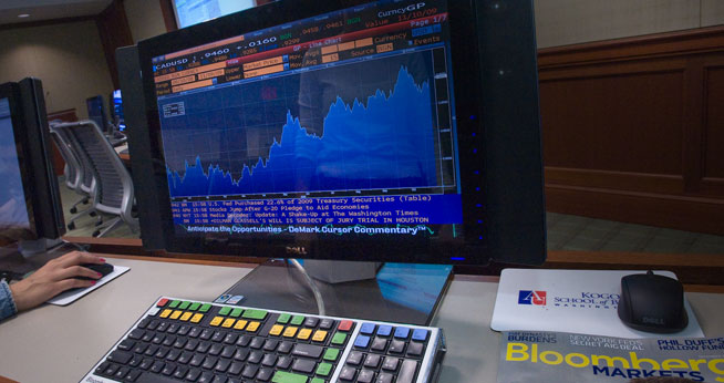 Bloomberg Terminal provide students with access to real-time and historical global financial markets