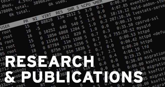 cyber security research and publications