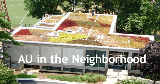 Green Roof on AU's campus