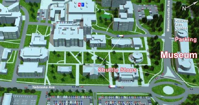 Washington Dc Universities Map - American university map