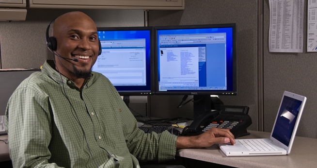 OIT Help Desk Analyst, Saleh Mitchell