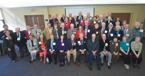 Members of the Class of 1960 and prior who attended All-American Weekend 2010