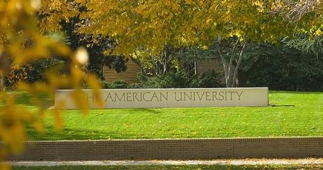 AU Sign in the Fall
