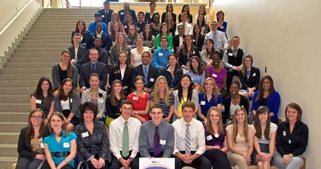 PRSSA Conference Attendees