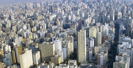 Buildings that make up the Buenos Aires skyline.