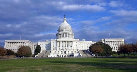 United States capitol building.