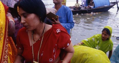 SOC Leena Jayaswal India Ganges River