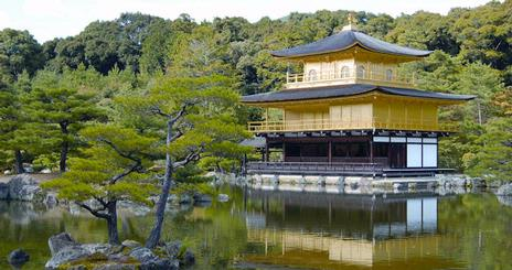 Photo of Golden Pagoda in Japan