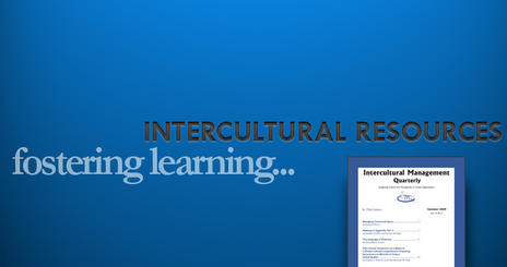 Fostering learning by providing intercultural resources.