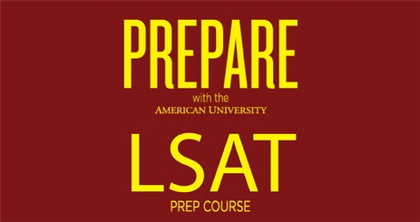 Prepare with the American University LSAT Prep Course