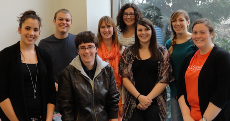 Student Staff Assistants in December 2012