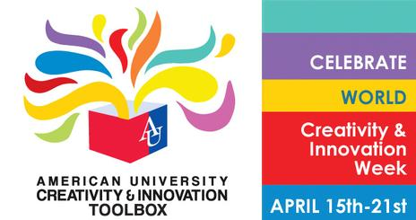 Innovation and Creativity at AU logo