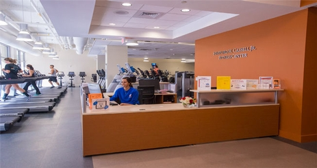 Cassell Fitness Center front desk