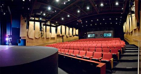 Greenberg Theatre from stage right