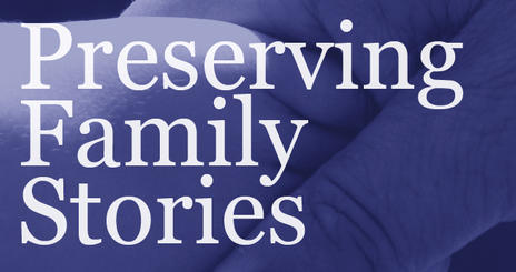 Preserving Family Stories is a five-day program for ten to 14-year-olds and ...