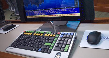 Bloomberg Terminal Login Screen