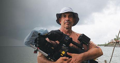 School of Communication professor Larry Engel worked as director of photography on Water World, a documentary that aired on NOW on PBS.