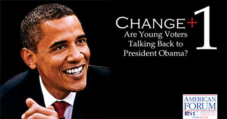 American Forum: Are young voters talking back to President Obama?