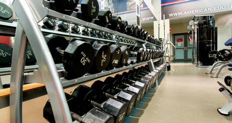 Jacobs Fitness Center weights