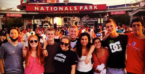 SPExS students at Nationals Park
