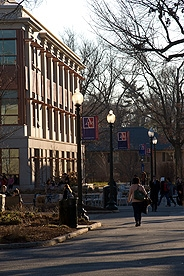 The American University campus.