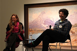 Sharon Louden in conversation with Hrag Vartanian, Editor-in-Chief of Hyperallergic.